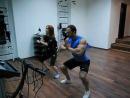 7 сентябрь 2013 г. 0:36 Видеофрагмент тренировки по технологии EMS. Тренер Александр Галапац, клиент- Карина Плай.